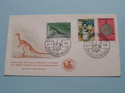 AIR Et ESPACE - LUCHT En KOSMOS Sciences/Natuurwetenschappen - Bruxelles 28-5-1966 ( Zie Foto ) !