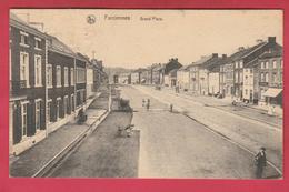 Farciennes - Grand'Place - 1921 ( Voir Verso ) - Farciennes