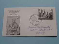 Postzegelvereniging MERCATOR 1941 - 1971 - Borgerhout 4-9-1971 ( Zie Foto ) ! - Belgique