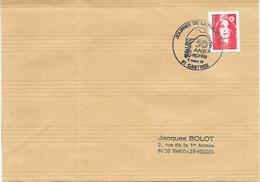 81  CASTRES - Journee De La Philatelie- 50 Ans Apres - Marcophilie (Lettres)