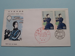 PHILATELY WEEK 1972 / 47-4-20 ( The Society For Promotion Of Philately ) ! - FDC