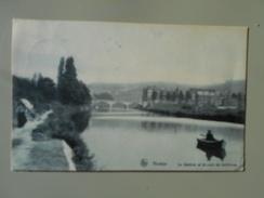 BELGIQUE NAMUR LA SAMBRE ET LE PONT DE SALZINNES - Namur