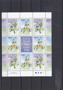 Foorball - Irlande - Yvert 860 / 61 ** - MNH - En Petite Feuille Avec Vignette - Coupe Du Monde Aux Etats Unis - World Cup