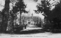 CPA   11   LIMOUX---N.-D. DE MARCEILLE---VUE GENERALE DE L'ESPLANADE---1915 - Limoux