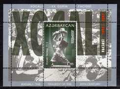 Azerbaijan 2007 The 15th Anniversary Of Khojali Tragedy.S/S.MNH - Azerbaïjan