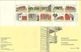 Finland 1979 Bauer Dwells - Farm Houses - Mi MH 11-  850-859 In Booklet, MNH(**)