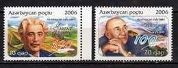 Azerbaijan 2006 Azerbaijan Poets.Famous People.MNH - Azerbaïjan
