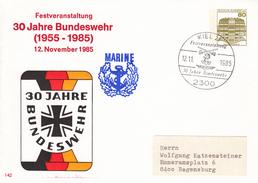 NPU 117/187a  Festveranstaltung 30 Jahre Bundeswehr 1955-1985 12. November 1985, Kiel 21 - [7] West-Duitsland
