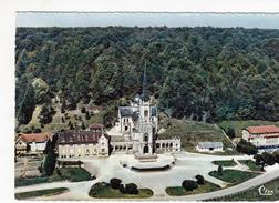 G , Cp , 88 , DOMRÉMY-la-PUCELLE , Vue Aérienne , Basilique Nationale De Sainte-Jeanne D'Arc - Domremy La Pucelle