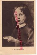 PEINTRE LE NAIN - PORTRAIT D' ENFANT   PHOTO GIRAUDON - COMITE NATIONAL DE L' ENFANCE PARIS - Cartes Postales