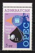 Azerbaijan 2006 The 30th Anniversary Of OPEC.energy.oil.MNH - Azerbaïjan