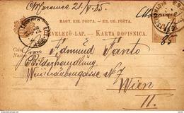 Hungary KK, Bahnstempel Wien-Budapest 1905 ... AH354 - Brieven En Documenten