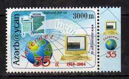 Azerbaijan 2004 The 35th Anniversary Of The Internet.MNH - Azerbaïjan
