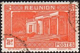 Réunion Obl. N° 144 - Vue -> Musée Léon Dierx à Saint Denis Le 2fr Orange - Oblitérés