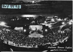 Sardegna-cagliari Veduta Anfiteatro Romano Cagliari Stagione Lirica 1959 (vedi Retro) - Cagliari