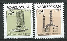Azerbaijan 2002 Towers Of Karabakh.MNH - Azerbaïjan