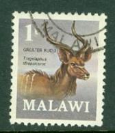 Malawi: 1971/75   Antelopes   SG375    1t    Used