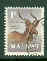 Malawi: 1971/75   Antelopes   SG375a    1t   [Perf: 14½ X 14]  Used