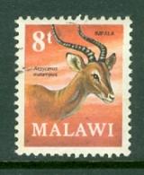 Malawi: 1971/75   Antelopes   SG379    8t     Used