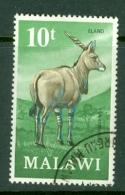 Malawi: 1971/75   Antelopes   SG380    10t     Used