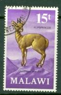 Malawi: 1971/75   Antelopes   SG381    15t     Used