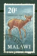 Malawi: 1971/75   Antelopes   SG382    20t     Used