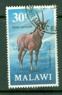 Malawi: 1971/75   Antelopes   SG383    30t     Used