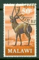 Malawi: 1971/75   Antelopes   SG384    50t     Used