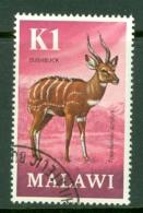 Malawi: 1971/75   Antelopes   SG385    K1     Used