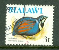 Malawi: 1975   Birds   SG475    3t    Used