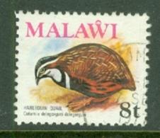 Malawi: 1975   Birds   SG477    8t    Used