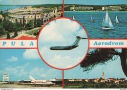 AIRPORT PULA,CROATIA - Aerodromi