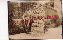 RARE PHOTO ORIGINALE PERE CENT GLOIRE AUX VETERANS- C.E.J. 21-7-1927- SECRETAIRES DE LA 26E REGIMENT INFANTERIE 1ER CONT - 1914-18
