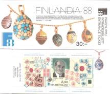 Finland 1988 Finlandia 88 Mi  1050 In Booklet MH 21 MNH(**) - Ongebruikt