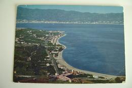 COSTA VIOLA   REGGIO CALABRIA     VIAGGIATA  COME DA FOTO  BOLLO RIMOSSO E PIEGA ANGOLO - Reggio Calabria