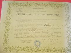 Diplôme/Certificat D'Etudes Primaires/Académie De CAEN/Seine Inférieure/CARLET/Grand Couronne/1918  DIP176 - Diplomi E Pagelle