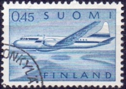 Finland 1963 0.54mk Vliegtuig GB-USED