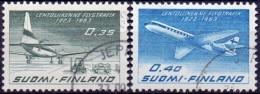 Finland 1963 Finnair GB-USED