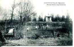 N°41858 -cpa Quéttreville -notre Dame Des Ermites- - Autres Communes