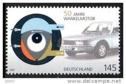 Allemagne Deutschland 2408 Moteur à Eau Wankel