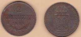 2 Kreuzer 1848 Austria Governo Rivoluzionario - Austria