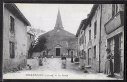 CPA 42 - Belleroche, La Place - France