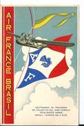 Centenaire De La Traversée De L'Atlantique /Europe Brésil /Air France / Hydravion ,1936