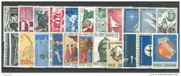 ITALIA REPUBBLICA - 1965 - Annata Completa - 22 Valori - Complete Year - ** MNH/VF - Annate Complete
