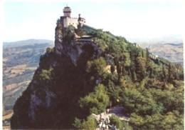 Repubblica Di San Marino - Lotto 3 Fotografie: 2° TORRE E PANORAMA, SCORCIO 1° TORRE, PALAZZO DEL GOVERNO - PERFETTA N36 - Riproduzioni
