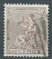 Espagne    - Yvert N°135 Oblitéré  - Cw 22819 - Used Stamps