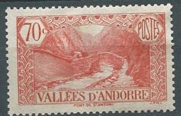 Andorre    - Yvert N° 69 * - Cw 22820