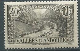 Andorre    - Yvert N° 62 * - Cw 22821