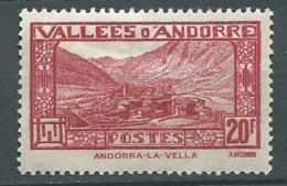 Andorre    - Yvert N° 45   * - Cw 22824