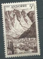 Andorre    - Yvert N° 141  * - Cw 22827